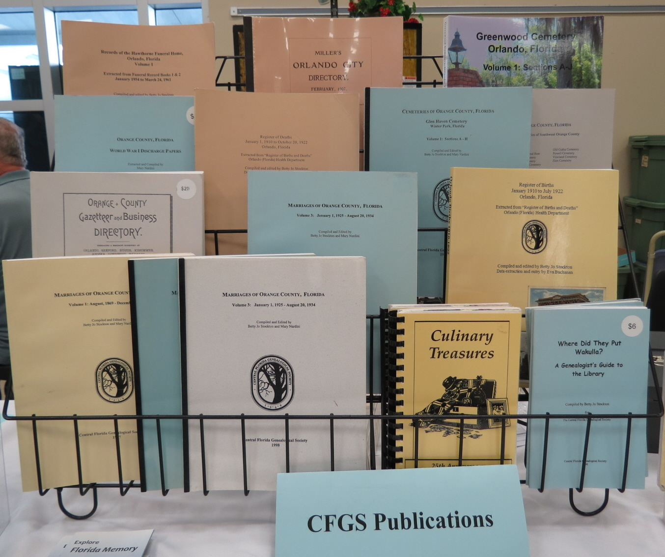 Books for Sale - Central Florida Genealogical Society